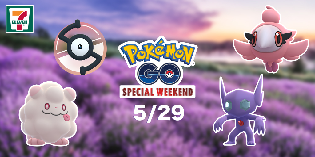 Enjoy a Pokémon GO Special Weekend in May with Verizon and other partners!