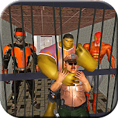 Superheroes Prison Escape: Monster hero Jail Break