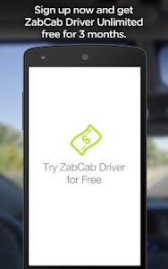 ZabCab Driver - For Taxi Cabs screenshot 4