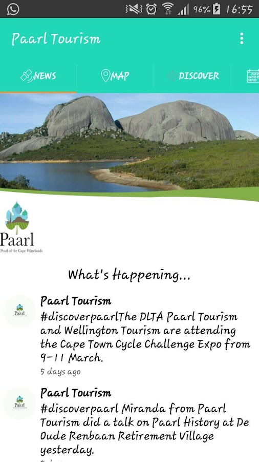 Paarl Tourism- screenshot