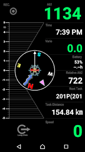 Variometer-Sky Land Tracker- screenshot thumbnail