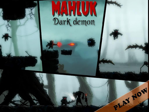 Mahluk: Dark demon - Retro horror platformer