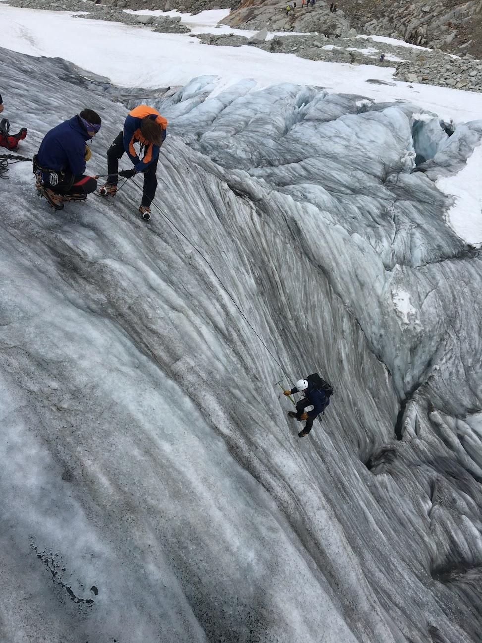 Gletsjer training