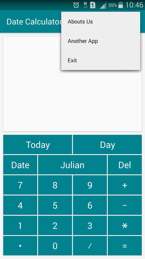 Calculate date