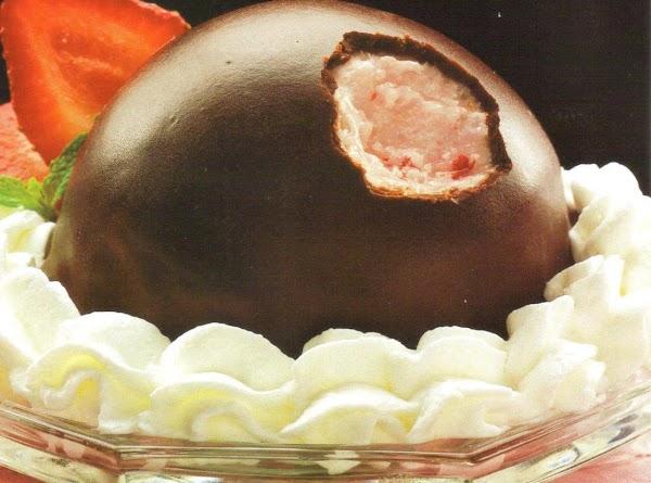 Chocolate Coated Ice Cream Bon Bons Recipe