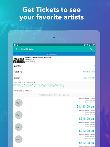 Bandsintown Concerts – Apps on Google Play