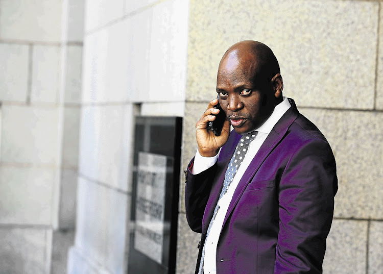 Hlaudi Motsoeneng.  Picture: THE TIMES