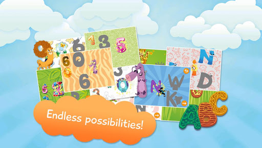 Kids Letters Numbers Free
