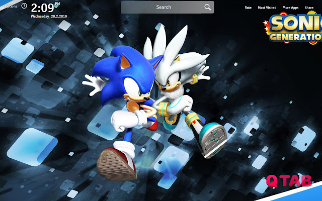 Sonic The Hedgehog Wallpapers New Tab