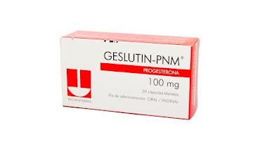 Geslutin-PNM 100Mg Cápsulas