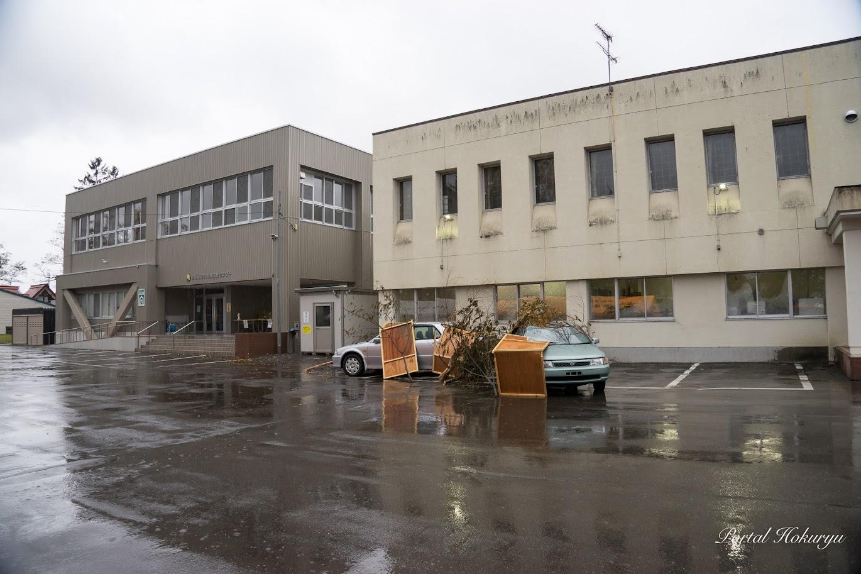 北竜町公民館と北竜町農村環境改善センター