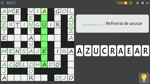 Crosswords - Spanish version (Crucigramas) apkpoly screenshots 20