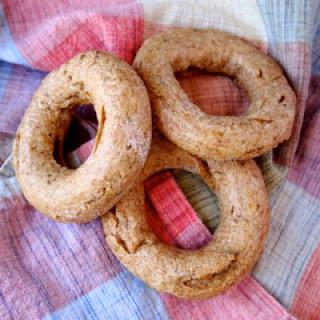 Vegan Whole Wheat Herb Bagels