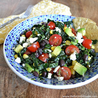 Mexican Kale Salad with Chili-Lime Vinaigrette