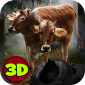 Crazy Mutant Cow Simulator 3D