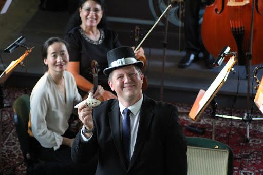 """Einer der Stars des Konzerts: """"Herr Kuckuck""""... (Zum Öffnen der Fotostrecke auf das Bild klicken - alle Bilder A.M.)"""