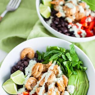 Mexican Shrimp Rice Bowls.