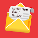 Invitation Card Design Maker free icon