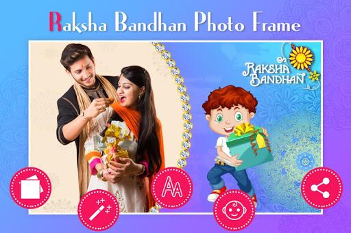 Rakshabandhan Photo Frame : Rakhi photo Editor 1.1 screenshots 1