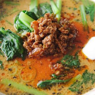 Tantan Ramen Noodles