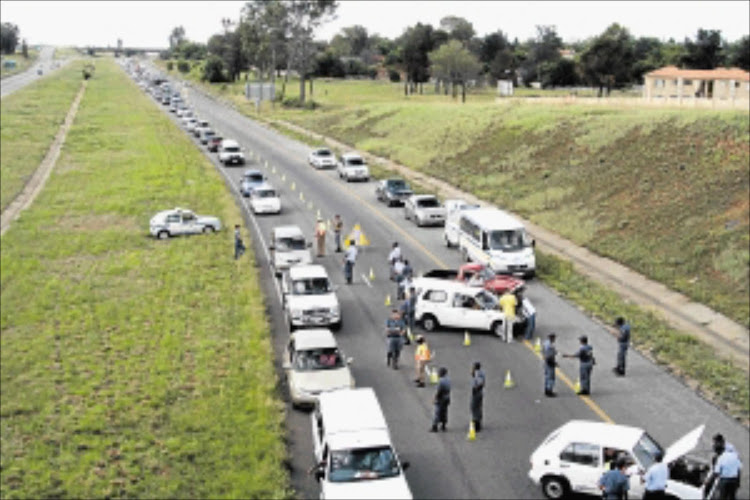 A Cape Town traffic warden has been arrested for setting up a fake road block.