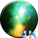 Firework HD Video LWP icon