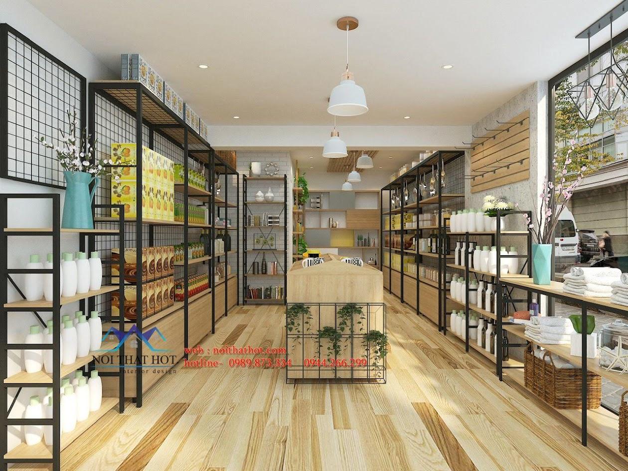 thiết kế cửa hàng tiện ích 2