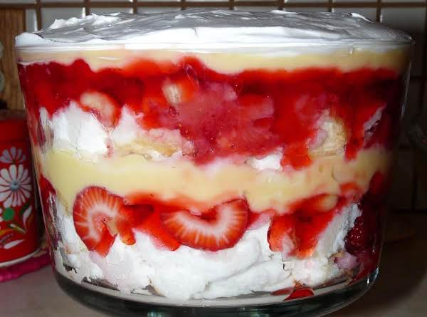 Simple Summer Trifle