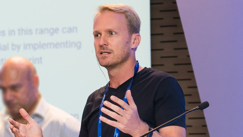 Willem van der Post of xTech.Institute. (Photo supplied by Africa Tech Week)