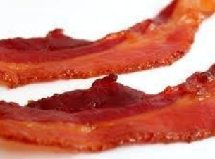 Cook bacon so that it's crispy, but not burnt. Peel (optional) and quarter potatoes, and...
