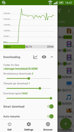 Advanced Download Manager 7.5 screenshots 2