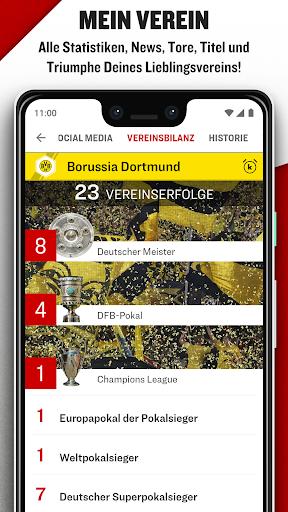 kicker Fußball News 6.6.0 screenshots 8