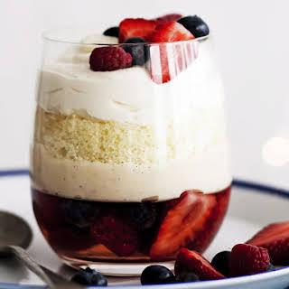 Sparkling Berry Trifles.