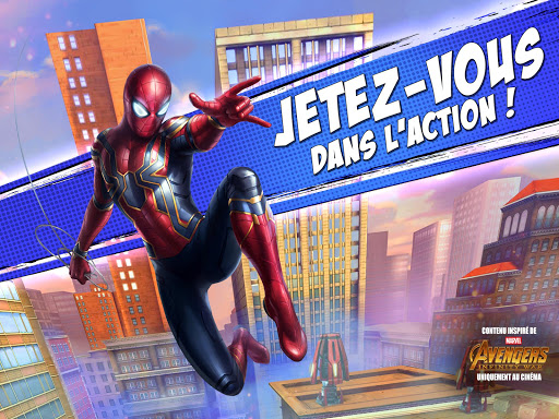 MARVEL Spider-Man Unlimited  captures d'écran 1