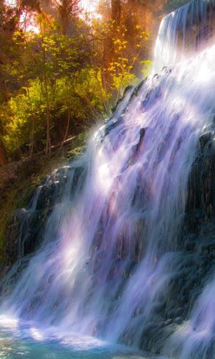 滝の壁紙を移動