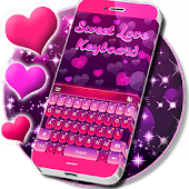 Sweet Love Keyboard Theme