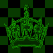 Green Chess Crown Go SMS Theme