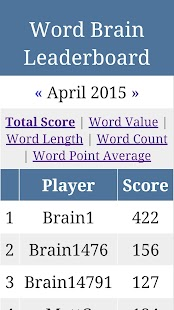 Word Brain - screenshot thumbnail
