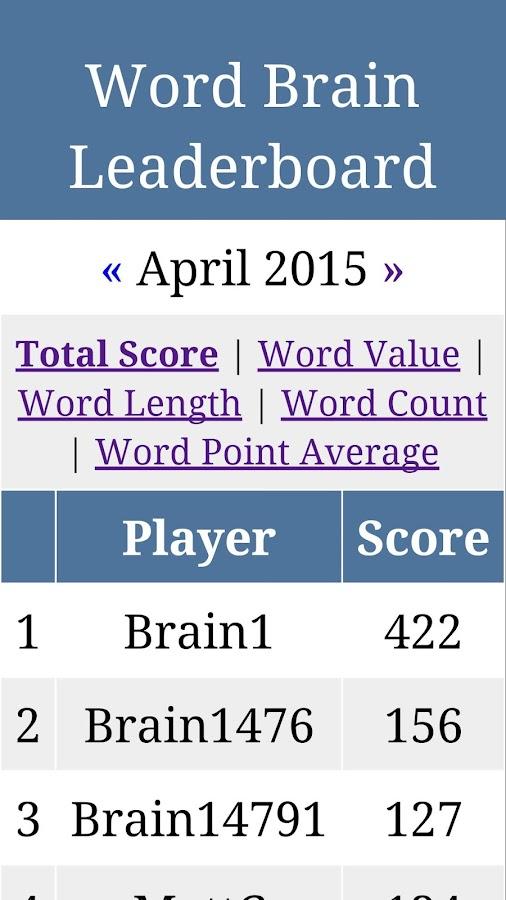 Word Brain - screenshot