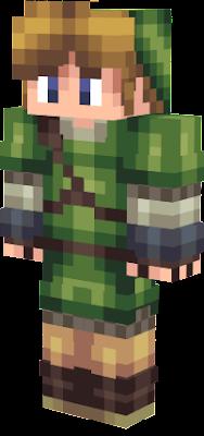 Link Nova Skin - Skins para minecraft pe zelda