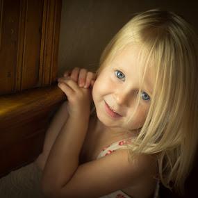Little Charlotte by Richard Saxon - Babies & Children Child Portraits ( natural light, children, child portrait )
