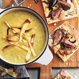 Parsnip, Apple And Leek Soup