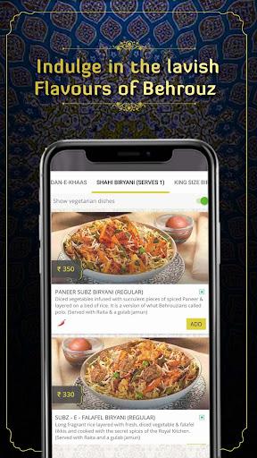 Behrouz Biryani - Order Biryani Online 2.17 screenshots 5