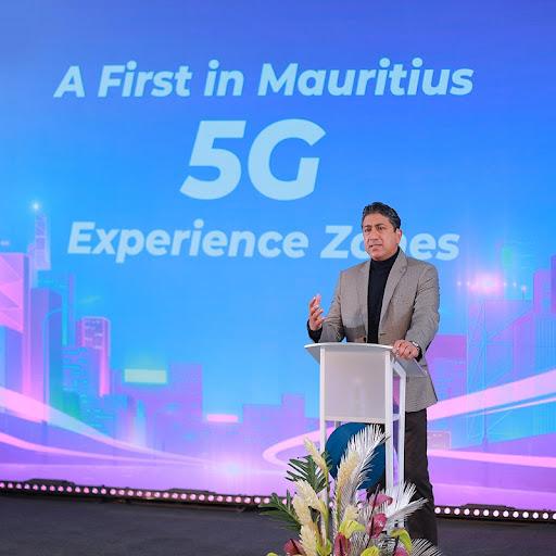 Sherry Singh, CEO of Mauritius Telecom.
