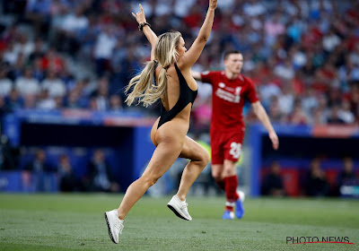 UEFA maakt zich belachelijk met boete voor veldbestormster Champions League-finale