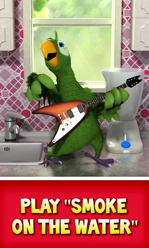 Talking Pierre the Parrot Free screenshot 1