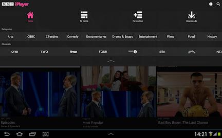 BBC iPlayer Screenshot 2