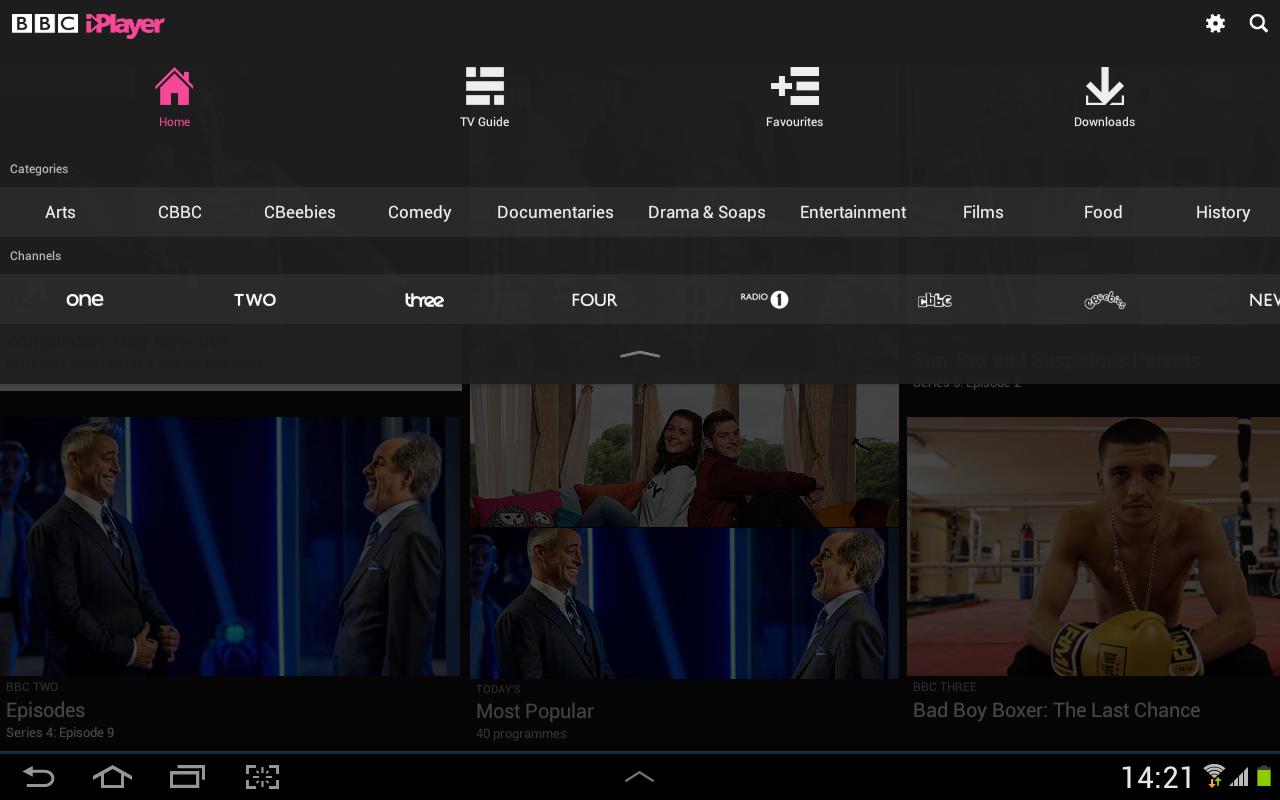 BBC iPlayer- screenshot