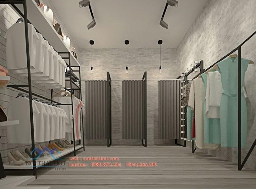 thiết kế cửa hàng thời trang độc đáo