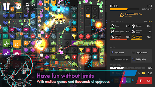 Infinitode 2 – Infinite Tower Defense MOD (Unlimited Money) 5